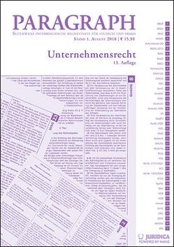 Unternehmensrecht von Artmann,  Eveline, Karollus,  Martin