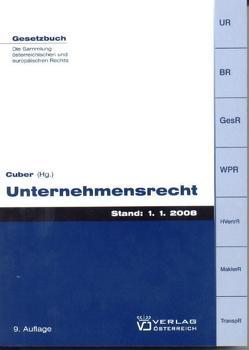 Unternehmensrecht von Cuber,  Eva M