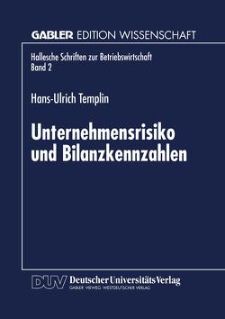 Unternehmensrisiko und Bilanzkennzahlen von Templin,  Hans-Ulrich