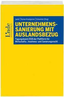 Unternehmenssanierung mit Auslandsbezug von Jaufer,  Clemens, Nunner-Krautgasser,  Bettina, Schummer,  Gerhard