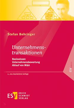 Unternehmenstransaktionen von Behringer,  Stefan