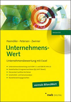 UnternehmensWert von Kähler,  Malte, Peemöller,  Volker H., Petersen,  Karl, Zimny,  Gregor, Zwirner,  Christian
