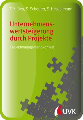 Unternehmenswertsteigerung durch Projekte von Bea,  Franz Xaver, Hesselmann,  Sabine, Scheurer,  Steffen