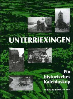 Unterriexingen – Ein historisches Kaleidoskop von Albrecht,  Jörg, Fleck,  Walther G, Giesen,  Sebastian, Hess,  Hans B, Speidel,  Manfred