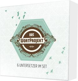 """Untersetzer """"WortProjekt"""" 6er-Set"""