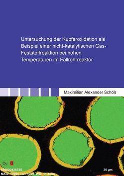 Untersuchung der Kupferoxidation als Beispiel einer nicht-katalytischen Gas-Feststoffreaktion bei hohen Temperaturen im Fallrohrreaktor von Schöß,  Maximilian Alexander