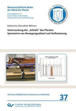 """Untersuchung der """"Schiefe"""" des Pferdes von Rehren,  Katharina"""