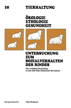 Untersuchung zum Sozialverhalten des Rindes von Reinhardt