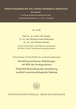 Untersuchungen auf dem Gebiete der praktischen Mathematik von Neukirchen,  Hermann Josef, Reutter,  Fritz, Sommer,  Dietmar