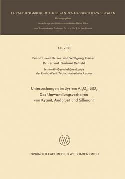 Untersuchungen im System Al2O3-SiO2 von Krönert,  Wolfgang