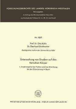 Untersuchungen von Drucken auf den tierischen Körper von Kuhn,  Otto