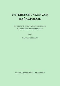 Untersuchungen zur Ragazpoesie von Ullmann,  Manfred