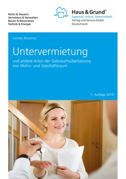 Untervermietung von Brückner,  Carsten