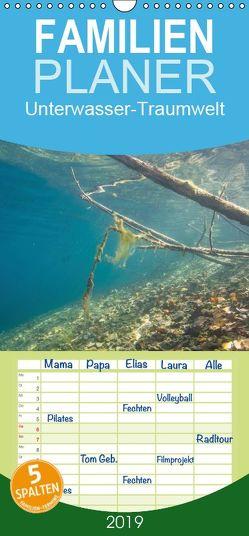 Unterwasser-Traumwelt – Familienplaner hoch (Wandkalender 2019 <strong>21 cm x 45 cm</strong> hoch) von Suttrop,  Christian