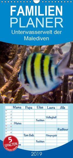 Unterwasserwelt der Malediven III – Familienplaner hoch (Wandkalender 2019 , 21 cm x 45 cm, hoch) von RODRIGUEZ Photography,  CLAVE