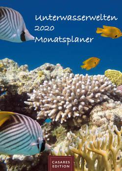 Unterwasserwelten Monatsplaner 2020 30x42cm