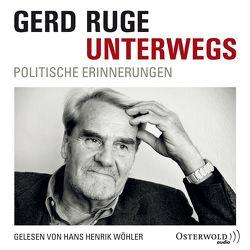 Unterwegs von Ruge,  Gerd, Wöhler,  Hans Henrik