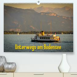 Unterwegs am Bodensee (Premium, hochwertiger DIN A2 Wandkalender 2021, Kunstdruck in Hochglanz) von Wenk,  Marcel