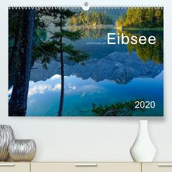 Unterwegs am Eibsee (Premium, hochwertiger DIN A2 Wandkalender 2020, Kunstdruck in Hochglanz) von Maier,  Norbert