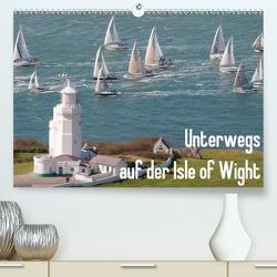 Unterwegs auf der Isle of Wight (Premium, hochwertiger DIN A2 Wandkalender 2021, Kunstdruck in Hochglanz) von anfineMa