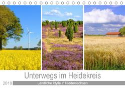 Unterwegs im Heidekreis (Tischkalender 2019 DIN A5 quer) von Scheffbuch,  Gisela