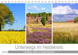 Unterwegs im Heidekreis (Tischkalender 2020 DIN A5 quer) von Scheffbuch,  Gisela