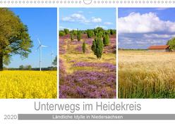 Unterwegs im Heidekreis (Wandkalender 2020 DIN A3 quer) von Scheffbuch,  Gisela