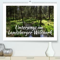 Unterwegs im Landsberger Wildpark (Premium, hochwertiger DIN A2 Wandkalender 2020, Kunstdruck in Hochglanz) von Reichenauer,  Maria