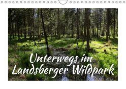 Unterwegs im Landsberger Wildpark (Wandkalender 2018 DIN A4 quer) von Reichenauer,  Maria