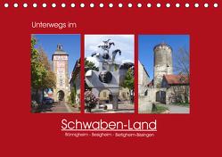 Unterwegs im Schwaben-Land (Tischkalender 2020 DIN A5 quer) von Keller,  Angelika