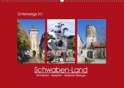 Unterwegs im Schwaben-Land (Wandkalender 2019 DIN A2 quer) von Keller,  Angelika