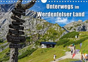 Unterwegs im Werdenfelser Land (Wandkalender 2020 DIN A4 quer) von Wilczek,  Dieter-M.
