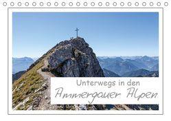 Unterwegs in den Ammergauer Alpen (Tischkalender 2019 DIN A5 quer) von Vonzin,  Andreas