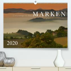 Unterwegs in den Marken (Premium, hochwertiger DIN A2 Wandkalender 2020, Kunstdruck in Hochglanz) von Maier,  Norbert
