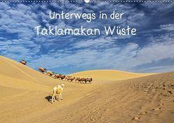 Unterwegs in der Taklamakan Wüste (Wandkalender 2019 DIN A2 quer) von Berlin,  Annemarie