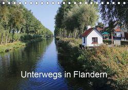 Unterwegs in Flandern (Tischkalender 2019 DIN A5 quer) von Nitzold-Briele,  Gudrun