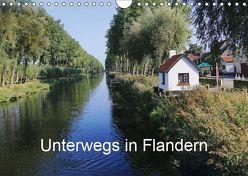 Unterwegs in Flandern (Wandkalender 2019 DIN A4 quer) von Nitzold-Briele,  Gudrun