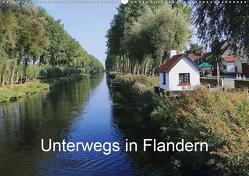 Unterwegs in Flandern (Wandkalender 2021 DIN A2 quer) von Nitzold-Briele,  Gudrun