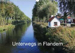 Unterwegs in Flandern (Wandkalender 2021 DIN A3 quer) von Nitzold-Briele,  Gudrun