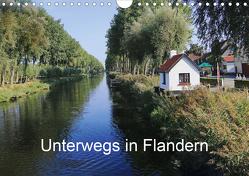 Unterwegs in Flandern (Wandkalender 2021 DIN A4 quer) von Nitzold-Briele,  Gudrun