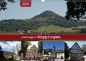 Unterwegs in Göppingen (Wandkalender 2019 DIN A3 quer) von Keller,  Angelika