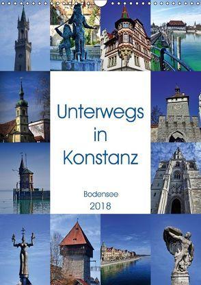 Unterwegs in Konstanz (Wandkalender 2018 DIN A3 hoch) von kattobello