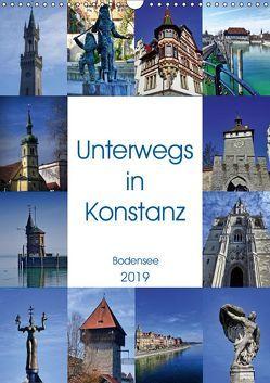 Unterwegs in Konstanz (Wandkalender 2019 DIN A3 hoch) von kattobello