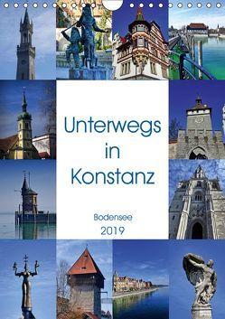 Unterwegs in Konstanz (Wandkalender 2019 DIN A4 hoch) von kattobello