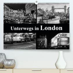 Unterwegs in London (Premium, hochwertiger DIN A2 Wandkalender 2020, Kunstdruck in Hochglanz) von Buchspies,  Carina