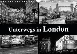 Unterwegs in London (Wandkalender 2019 DIN A4 quer) von Buchspies,  Carina
