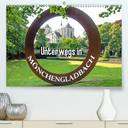 Unterwegs in Mönchengladbach (Premium, hochwertiger DIN A2 Wandkalender 2021, Kunstdruck in Hochglanz) von Schwarze,  Nina