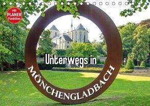 Unterwegs in Mönchengladbach (Tischkalender 2018 DIN A5 quer) von Schwarze,  Nina