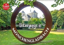 Unterwegs in Mönchengladbach (Wandkalender 2018 DIN A2 quer) von Schwarze,  Nina