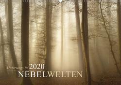 Unterwegs in Nebelwelten (Wandkalender 2020 DIN A2 quer) von Maier,  Norbert